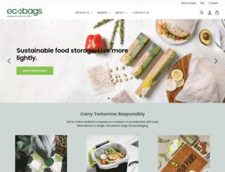 ecobags.co.nz screenshot