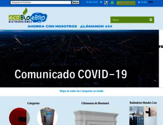 ecobioebro.es screenshot