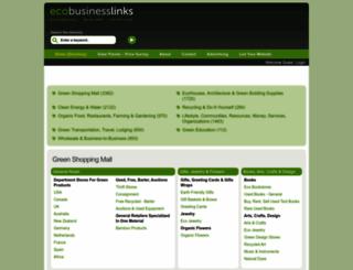 ecobusinesslinks.com screenshot