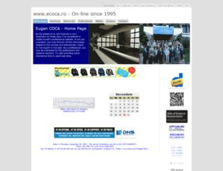 ecoca.ro screenshot
