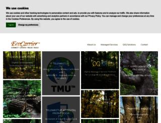 ecocarrier.com screenshot