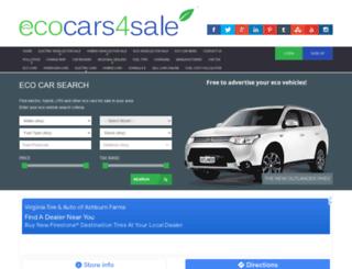 ecocars4sale.com screenshot