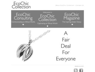 ecochiccollection.co.uk screenshot
