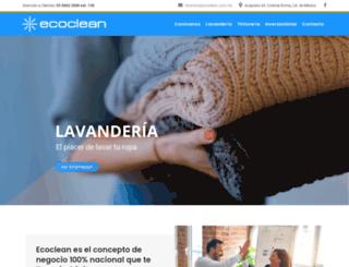 ecoclean.org.mx screenshot