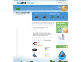 ecodrip.co.uk screenshot