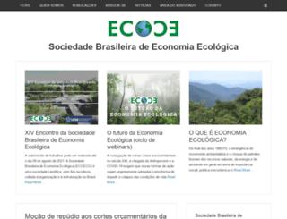 ecoeco.org.br screenshot