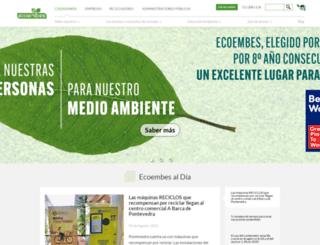 ecoembes.es screenshot