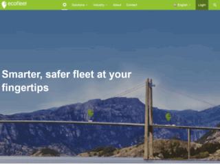 ecofleet.com screenshot