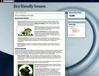 ecofrendlyhouses.blogspot.com screenshot