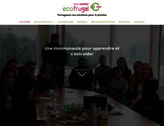 ecofrugalproject.org screenshot
