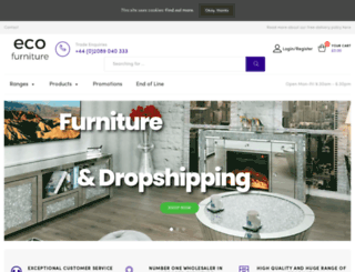 ecofurnishings.co.uk screenshot
