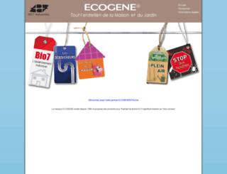 ecogene.fr screenshot