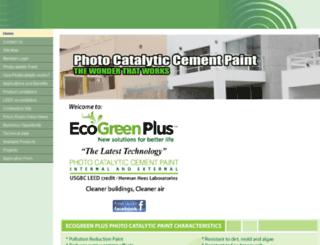 ecogreen-plus.com screenshot
