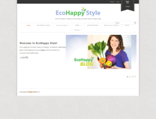 ecohappystyle.com screenshot