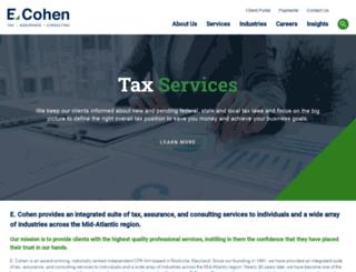 ecohencpas.com screenshot