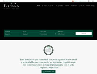 ecoibiza.com screenshot
