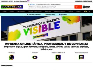 ecoimpresion.es screenshot