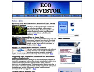 ecoinvestor.com.au screenshot