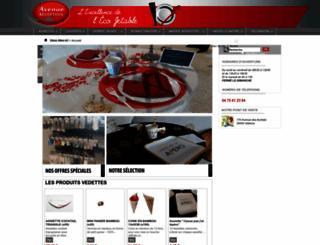 ecojetable.fr screenshot