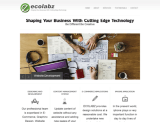 ecolabz.com screenshot
