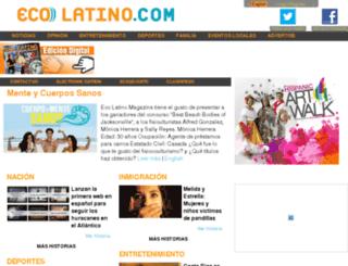ecolatino.com screenshot