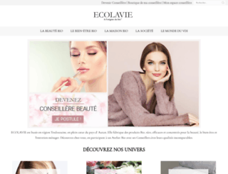 ecolavie.fr screenshot