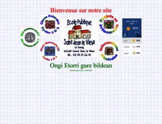ecole.donazaharre.free.fr screenshot