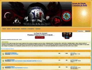 ecolefrancaisedebudo.forumperso.com screenshot