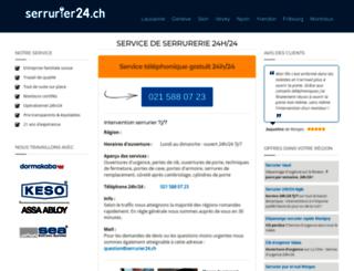 ecoletheler.ch screenshot