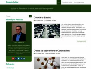 ecologiacelular.com.br screenshot