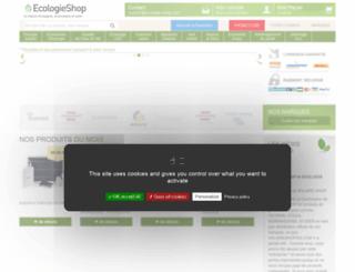 ecologie-shop.com screenshot