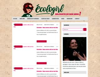 ecologirl.over-blog.org screenshot