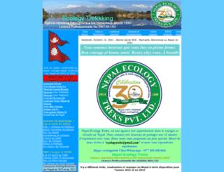 ecologytrekking.com screenshot