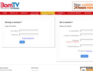 ecom.bom.tv screenshot