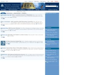 ecom.ncsl.org screenshot