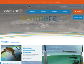 ecomare.nl screenshot
