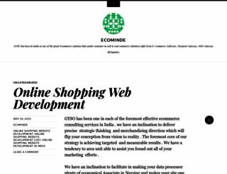 ecominde.wordpress.com screenshot