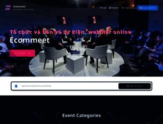 ecommeet.com screenshot