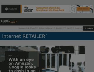 ecommerce-news.internetretailer.com screenshot
