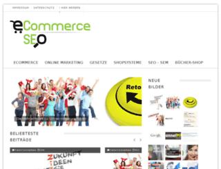 ecommerce-seo.de screenshot