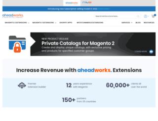 ecommerce.aheadworks.com screenshot
