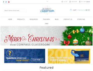 ecommerce.compassclassroom.com screenshot