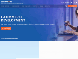ecommerce.semaphore-software.com screenshot