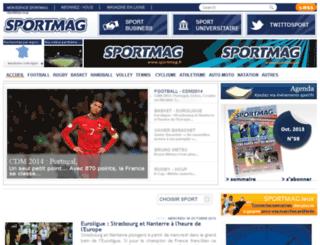ecommerce.sportmag.fr screenshot