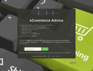 ecommerceadvice.co.za screenshot