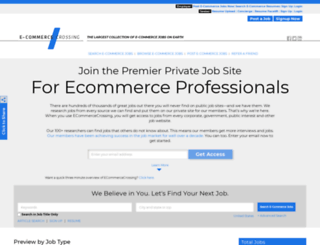 ecommercecrossing.com screenshot