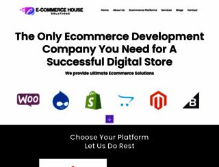 ecommercehouse.com screenshot