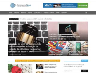 ecommercenews.com.br screenshot