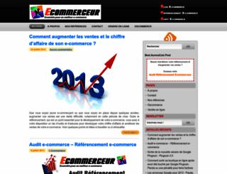 ecommerceur.com screenshot
