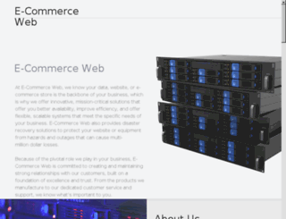 ecommerceweb.co screenshot
